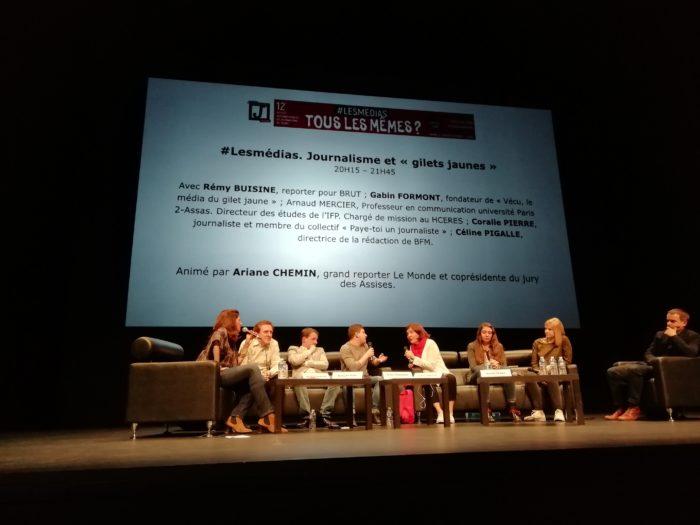 Assises Internationales du Journalisme à Tours. (Photo DR)