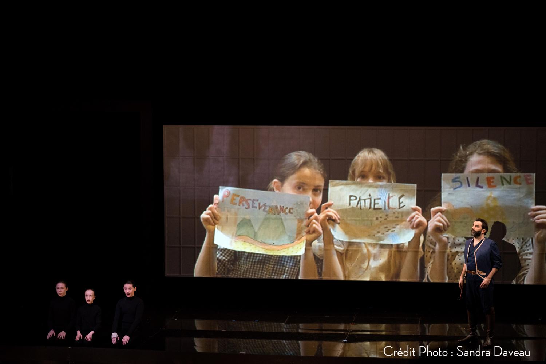 La Flûte Enchantée à l'Opéra de Tours. (Photo Sandra Daveau)