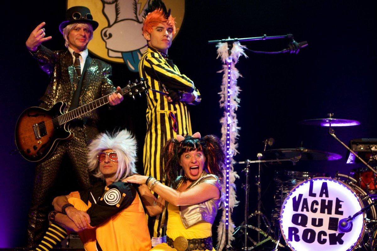 La Vache qui Rock Aucard de Tours concert
