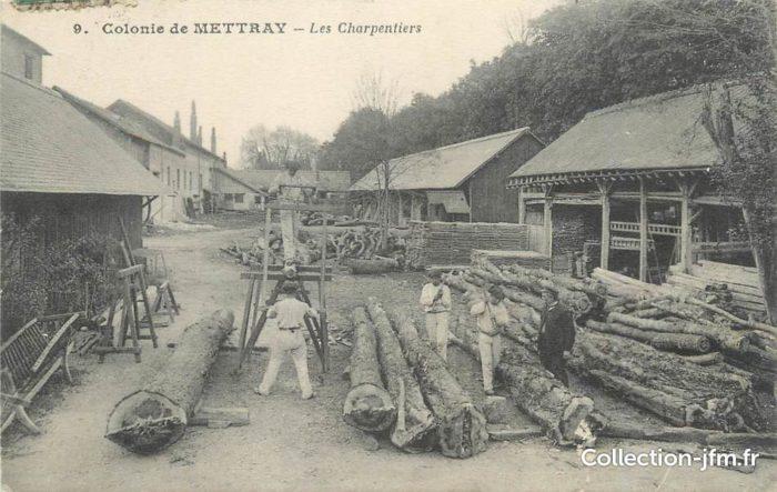 Colonie pénitentiaire de Mettray (photo DR)