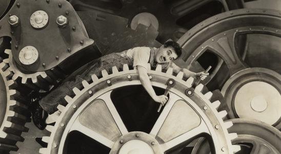 Charlie Chaplin Les temps modernes (Photo Musée d'arts de Nantes)