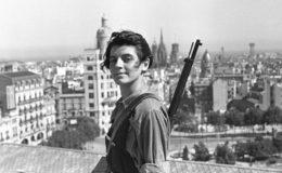 La milicienne Marina Ginestà