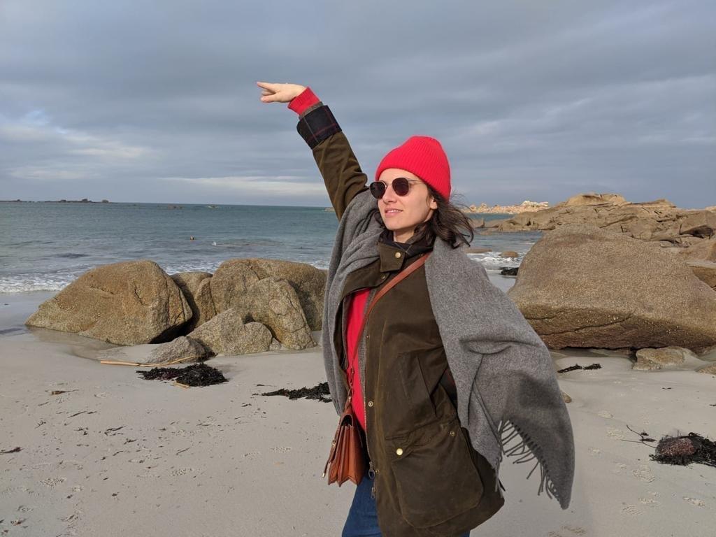 Marina Rollman à l'Espace Malraux de Joué-lès-Tours en mars 2021. (Photo DR)