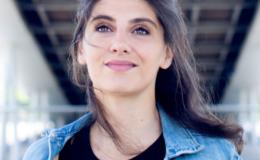Marina Rollman à l'Espace Malraux de Joué-lès-Tours en mars 2021. (Photo Laura Gilli)