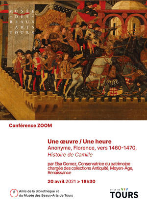 Cobférences zoom au Musée des Beaux-Arts de Tours